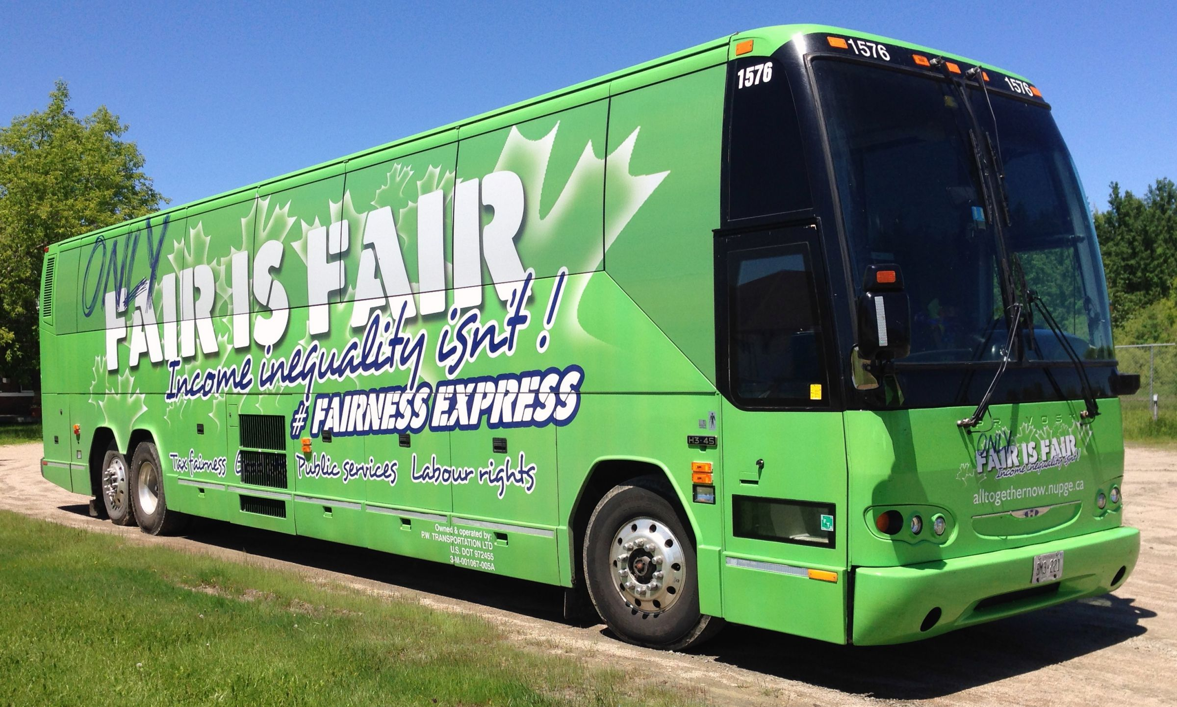 A Big Green Bus Is Coming To The Trout Festival